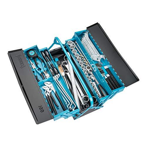 HAZET 190/80 Werkzeug-Sortiment mit Werkzeugkas