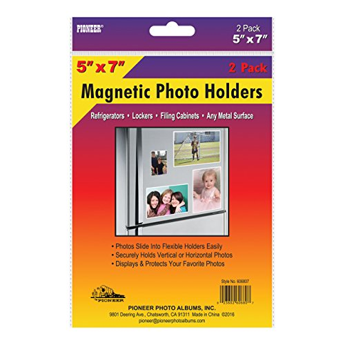 Pioneer 606807 Freez-A-Frame Photo Albums 5X7 in. Magnetic Photo Frame