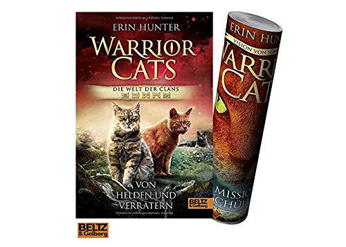Beltz & Gelberg Warrior Cats - Welt der Clans. Von Helden und Verrätern + gratis Warrior Cats Poster