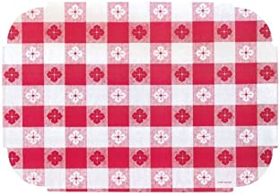 Red Gingham Decorator Placemats Pack