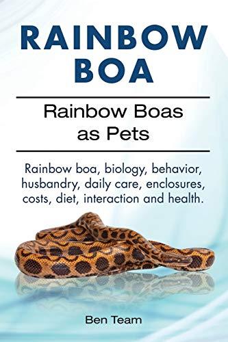 Rainbow Boa. Rainbow Boas as Pets. Rainbow boa, biology, behavior,...