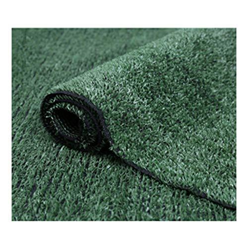 Gazon PING- Vert Artificiel, l'herbe Est Douce Et Dense Pelouse De Chien De Jardin Réaliste Naturel 10 Mm, 15 Mm De Hauteurs De Pieux, 5 Tailles (Color : 10mm Thick, Size : 1m×15m)