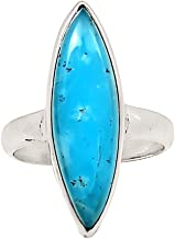 Xtremegems Smithsonite 925 Sterling Silver Ring Jewelry Size 6.5 24067R