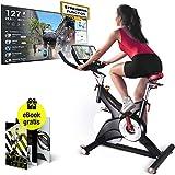 Sportstech Profi Indoor Cycle SX500 – Deutsche Qualitätsmarke -Live Videos & Multiplayer APP,...