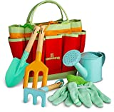 Product Image of the Kinderific Gardening Set, Tool Kit, for Toddlers and Kids 2 Years and up, STEM,...