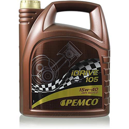 1 x 5L Pemco iDrive 105 / 15W-40 Motorenöl Universal