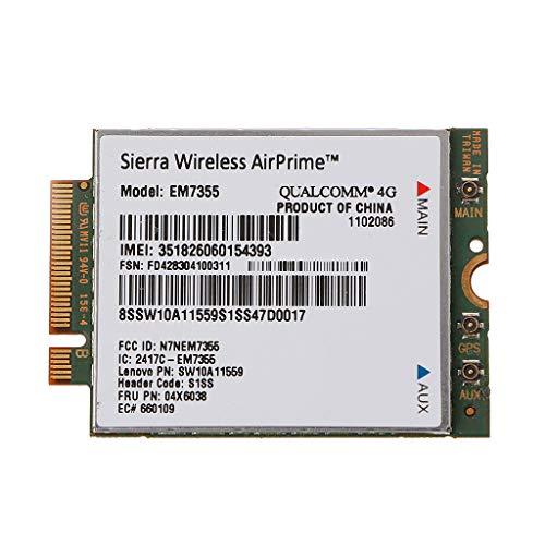 Ontracker EM7355 Gobi5000 4G LTE WWAN Tarjeta 04W3801 para Lenovo X240 W540 T440P T431S