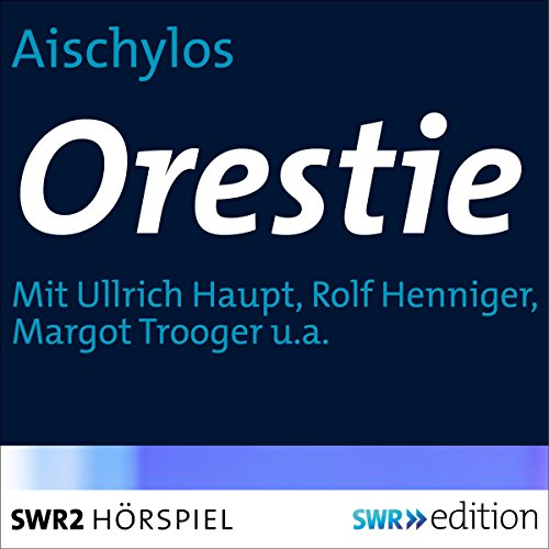 Orestie  By  cover art