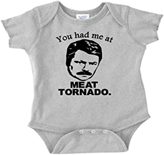 Ron Swanson Parks and Rec Meat Tornado Infant Toddler Baby