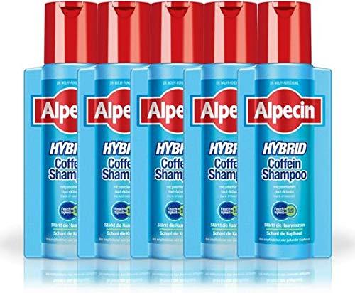 Alpecin Shampoo 6x250 ml Hybrid Caffeine - Voordeelverpakking