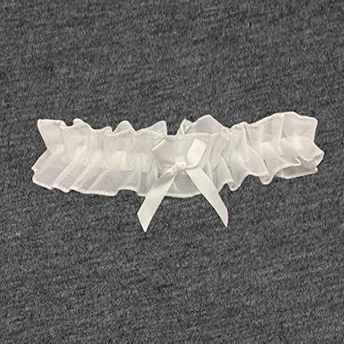 Vottle Mujeres Arco Pierna Anillo de Encaje Liga Fiesta Accesorios Nupciales Encaje elástico Pierna cinturón Liguero arnés de Muslo