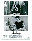 Vintage photo of 1996 A scene of Dianne Evelyn Wiest and Eugene Allen 'Gene' Hackman (top) and Robin McLaurin Williams and Christine Jane Baranski (bottom) from the American comedy film directed by Mike Nichols ' The Birdcage'.