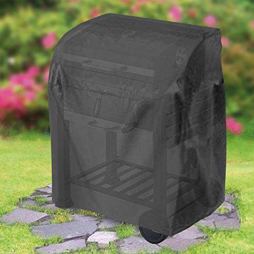 Krollmann 8100 Universal Abdeckhaube für Grillwagen klein schwarz Grill Schutzhülle 48,3 x 104,1 x 101,6 cm