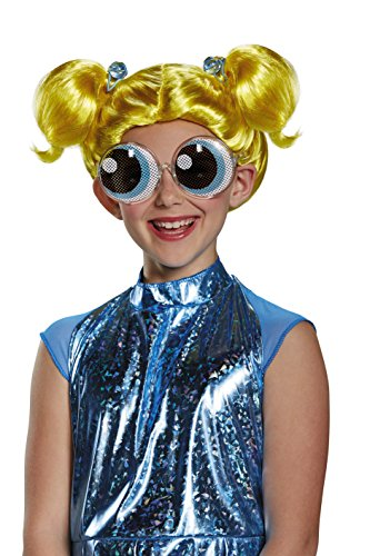 Bubbles Powerpuff Girls Wig, One Size Child