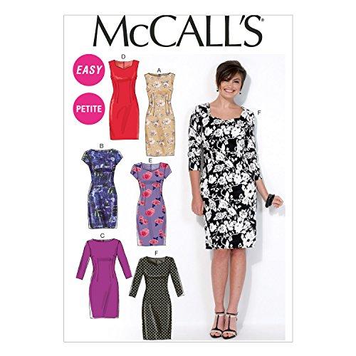 McCall Pattern Company M7085 Misses'/Miss Petite Dresses, Size A5