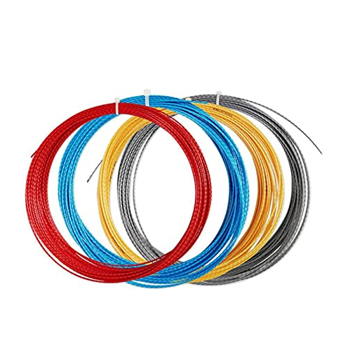 1.25mm Bamboe Polyester Tennis String Top-Spin Duurzaam Training Tennisracket String 10 stks/partij by ROYAL STAR TY