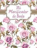Mi Planificador De Boda: Un Organizador de Bodas, Rosa y Dorado