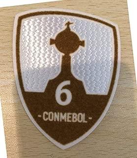 Patches 2018 Final COPA LIBERTADORES Match Detail Patch and Conmebol 2018 Patch River Plate VS Boca Juniors + Trophy 3 6 Patch - (Color: Trophy 6)