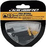 Jagwire Pro Quick-Fit Adapter-Avid Elixir Kit de empalmes Unisex, Color Negro