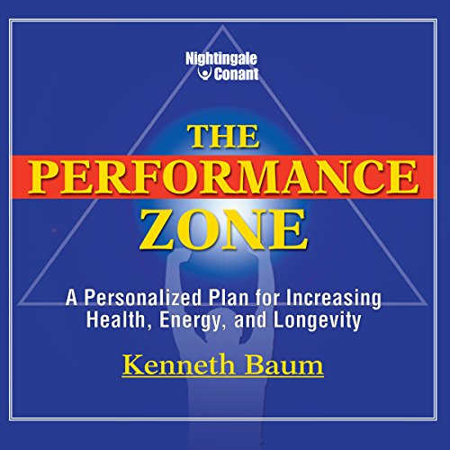 The Performance Zone audiobook cover art