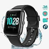 PUTARE Smartwatch, Relojes Inteligentes Impermeable IP68 para Mujer Hombre niños, Reloj de Fitness con Monitor de Frecuencia Cardíaca/Sueño/Calorías/Pasos, Pantalla Inteligente de 1.3'para iOS Android