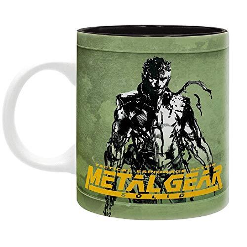 Metal Gear Solid - Tasse - Fox Hound Logo - Kaffeebecher - Solid Snake - Mug - keramik - Geschenkbox