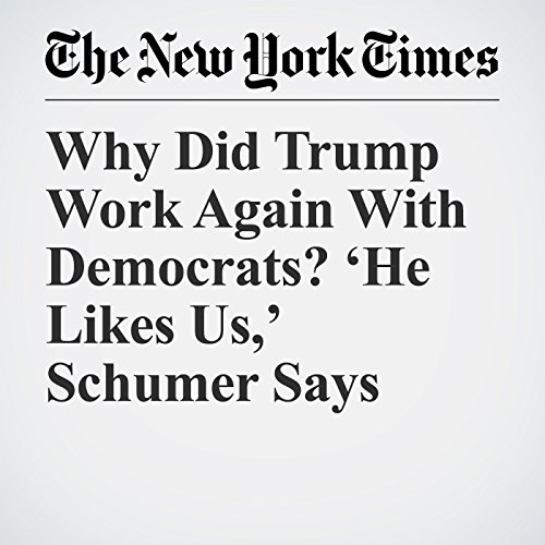 Why Did Trump Work Again With Democrats? 'He Likes Us,' Schumer Says copertina
