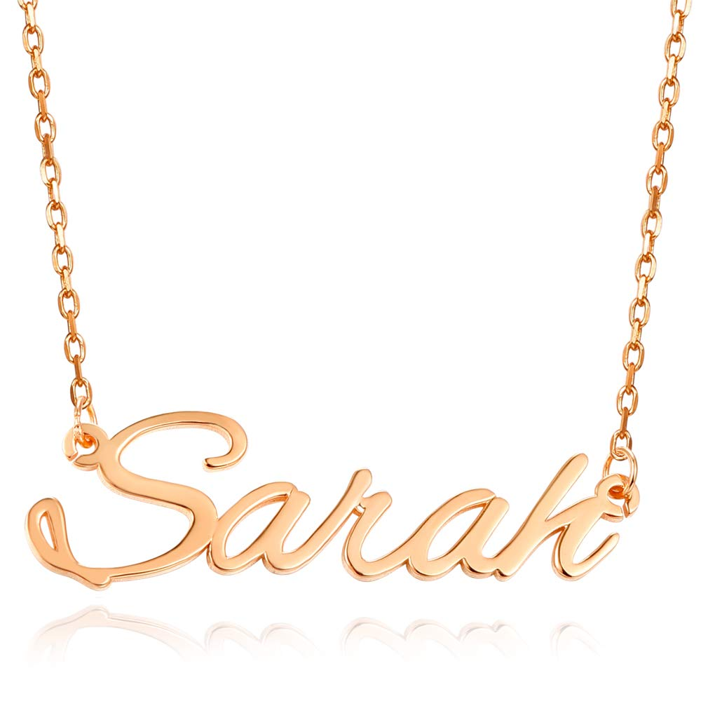 Custom Made Any Name Sterling Silver Personalized Name Necklace