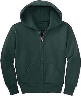 Joe's USA - Youth Full-Zip Hooded Sweatshirts in 22 Colors