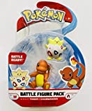 Wicked Cool Toys Battle Figure Pack - Charmander and Togepi