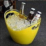 YWSZJ PC Cubos De Hielo Transparente, Vino De Champagne Cubo del Barril De Vino del Barril De Vino del Barril De Cerveza De Plástico (Color : B)