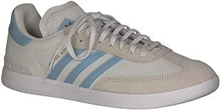 adidas Kid's Samba ADV Boys Fashion Sneakers Crystal White/Clear Blue/Cloud White