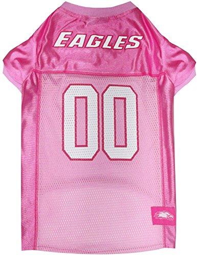 Pets First Collegiate Boston College Eagles Dog Jersey, Medium, Pink