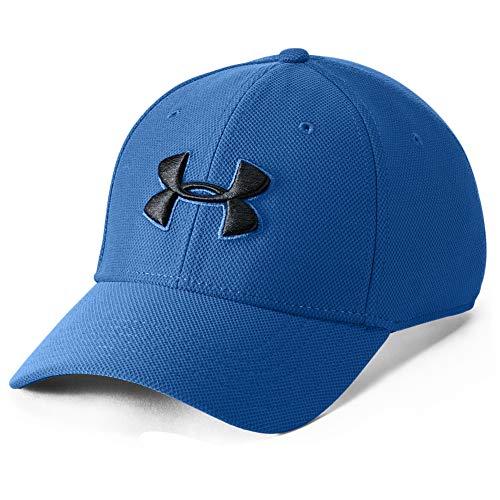 Under Armour Woven Graphic, ultraleichte und atmungsaktive Sporthose, robuste Sportshorts mit loser Passform Herren, Academy / Steel, XL