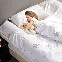 MODVEL Toddler Bed Bumper Rail Guard | Comfortable Hypoallergenic Foam for, Boys, Girls | ASTM, CSPIA Certified, Bed Side Rails for Twin Bed, Queen, King (MV-109)