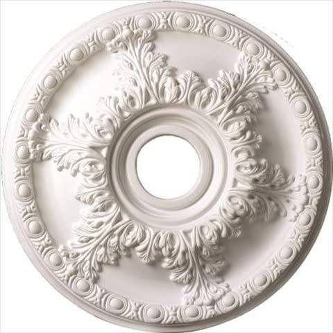 Architectural Products by Lowest price challenge Outwater White Medallion 3P5.37.00751 Daily bargain sale