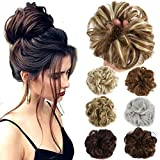 Hair Bun Extensions Wavy Curly