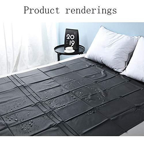 CS-MTZF PVC Plastic Adullt Séx Bed Sheets Séxy Game Waterproof Hypoallergenic Mattress Cover Bedding Sheets (Size : M)