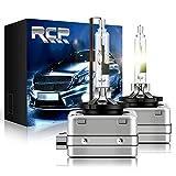 RCP - D1R4 - (A Pair) D1R 4300K Xenon HID Replacement Bulb Factory White Warm White Metal Stents Base 12V Car Headlight Lamps Head Lights 35W