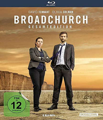 Broadchurch - Gesamtedition (Staffel 1-3) [Blu-ray]