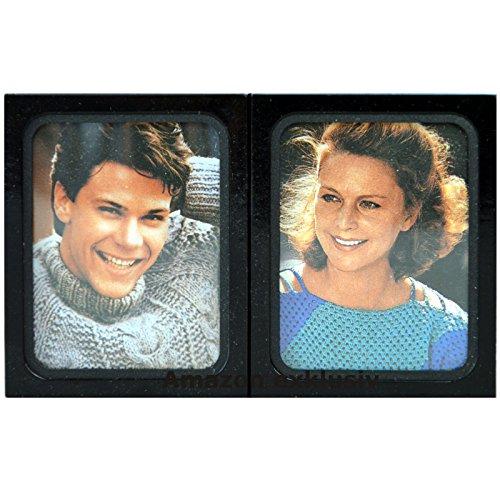 Historischer KFZ 2er Fotorahmen Bilderrahmen ca. 1983 (Art. 9823)