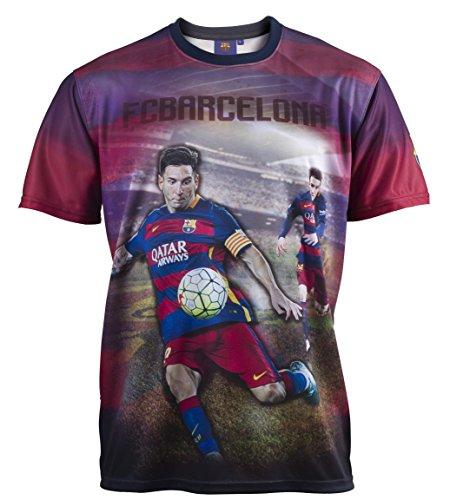 FC Barcelona – Camiseta oficial del Barça – Lionel Messi – Talla de adulto para hombre XXL