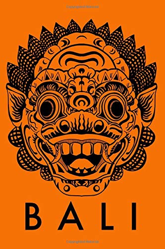 Barong Mask Bali, Indonesia Journal Composition Notebook Diary: Best gift for the traveler and travel journal