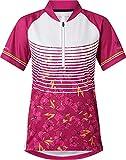 Nakamura Frida Jersey de Bicicleta, Rose Dark, 38 Mujer