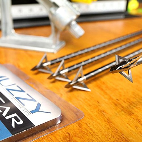 Muzzy Trocar 100 Grain 3-Blade Broadhead – 3 Pack, Multi, One Size