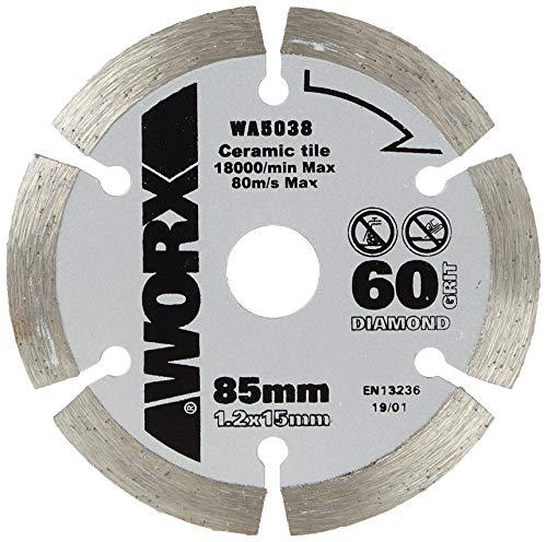 Worx Diamant Sägeblatt 85 mm. 1 Stück. WA5038