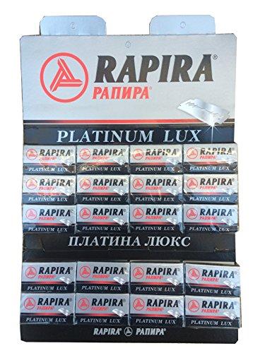 100 Rapira Platinum Lux Rasierklingen