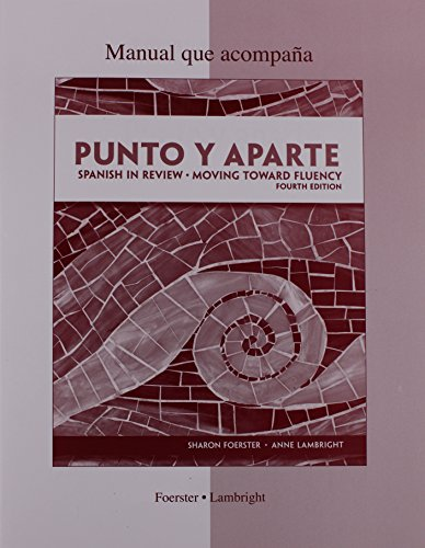 Workbook/Laboratory Manual for Punto Y Aparte