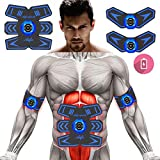 Abs Stimulator Muscle Trainer Ultimate Abs Stimulator Ab Stimulator for Men Women Abdominal Work Out Ads Power Fitness Abs Muscle Training Gear Workout Equipment Portable Stimulator 03