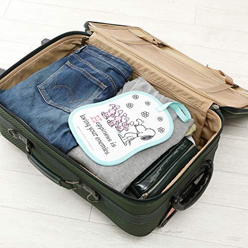 西川リビングスヌーピー除湿シート消臭クローゼット用引き出しスーツケース調湿湿気ぐんぐん吸収コンパクト1年中使えるピンクのウサギたち14295801620×25㎝ライトグリーン